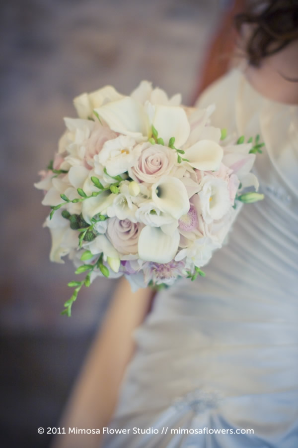 Mimosa Flower Studio - Charm / Pink Bride's Bouquet 3