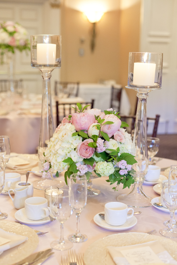 Queen's Landing Wedding - Imperial Ballroom Reception Flowers 2