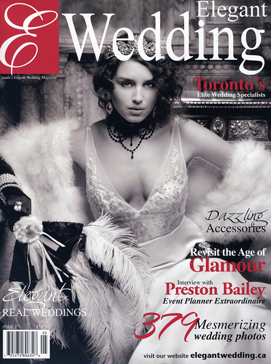 Vintage Design Co. // Elegant Wedding Magazine 2010 / 2011