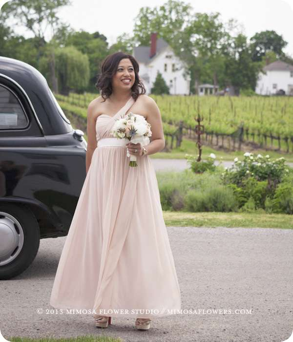 Maid of Honour - Outdoor Winery Wedding in Niagara on the Lake at Ravine Vineyard Estate Winery