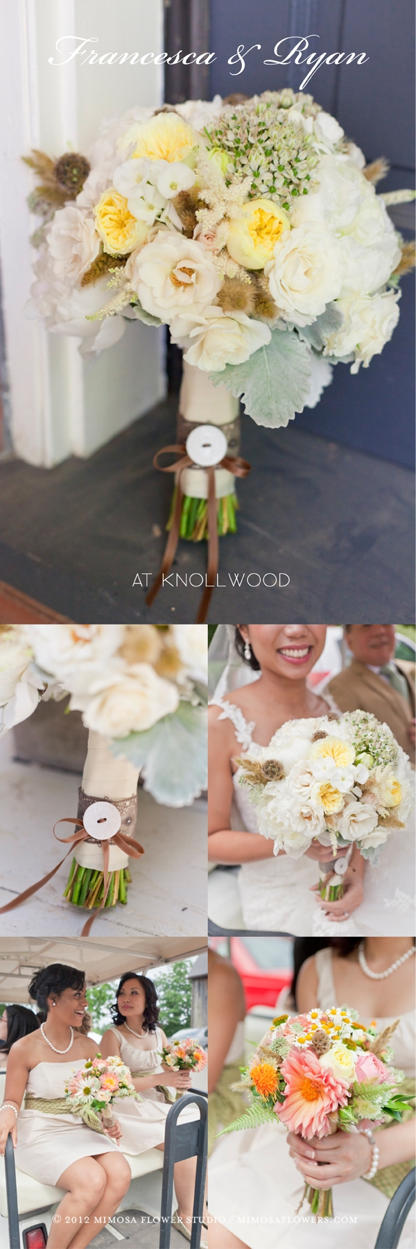Wedding at Knollwood Golf Course - Bride's Bouquet