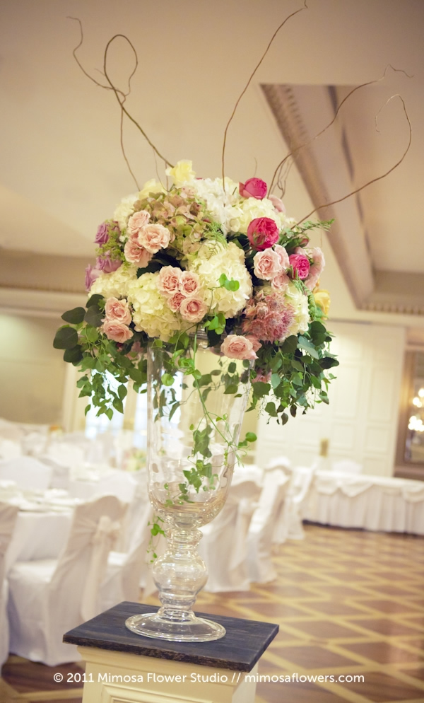 Large Wedding Altar Floral Arrangement