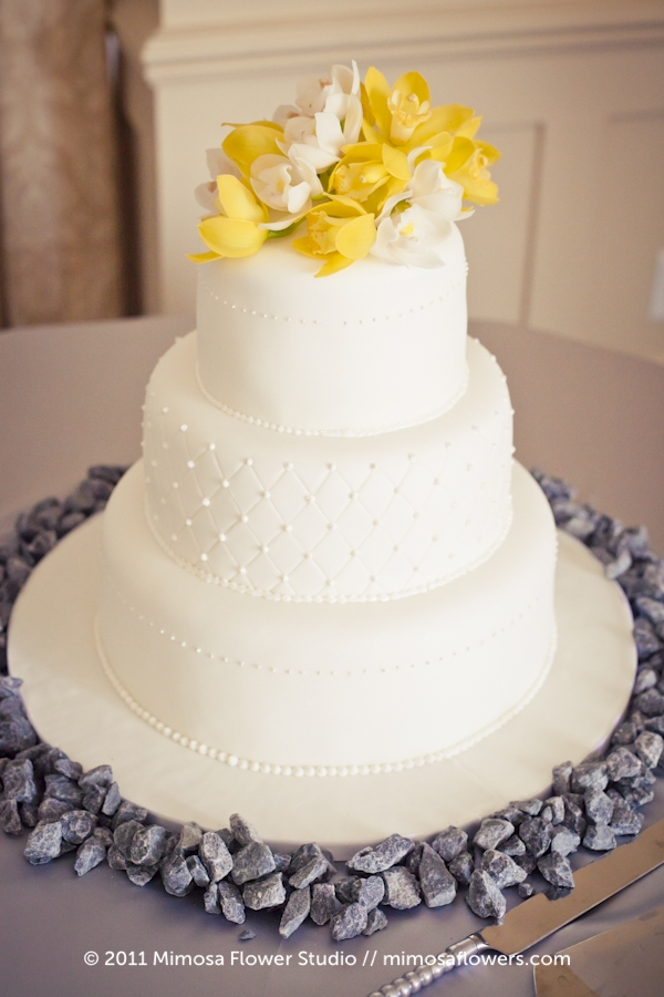 Wedding cake by Vineyard Sweets