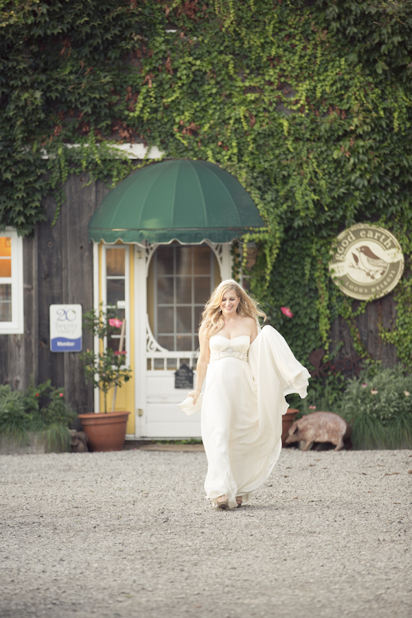 Bride at Good Earth Food and Wine Co