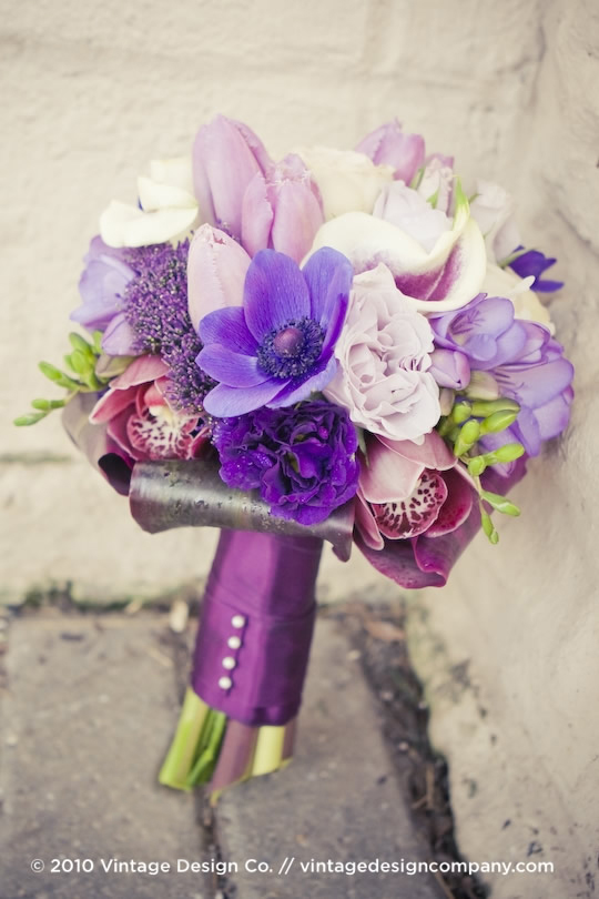 Vintage Design Co. // Niagara Wedding Flowers // Bride's Bouquet