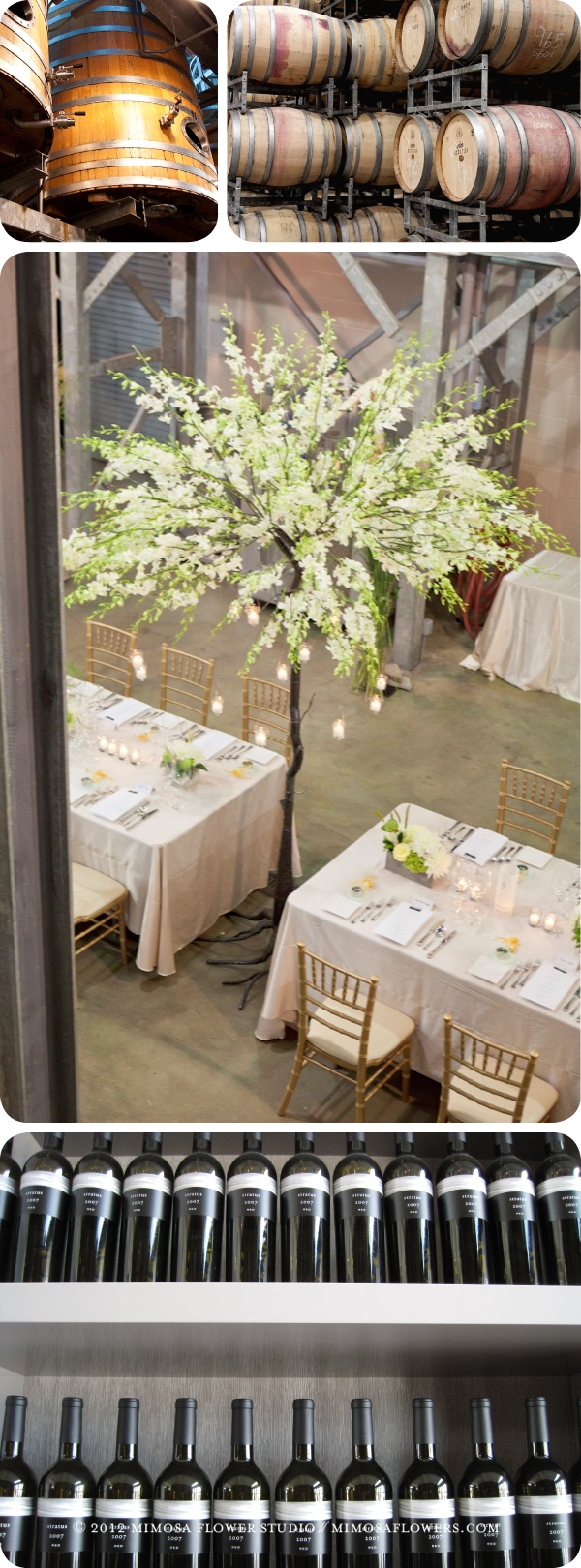 Press Gallery Wedding Reception at Stratus Winery Vineyard in Niagara on the Lake