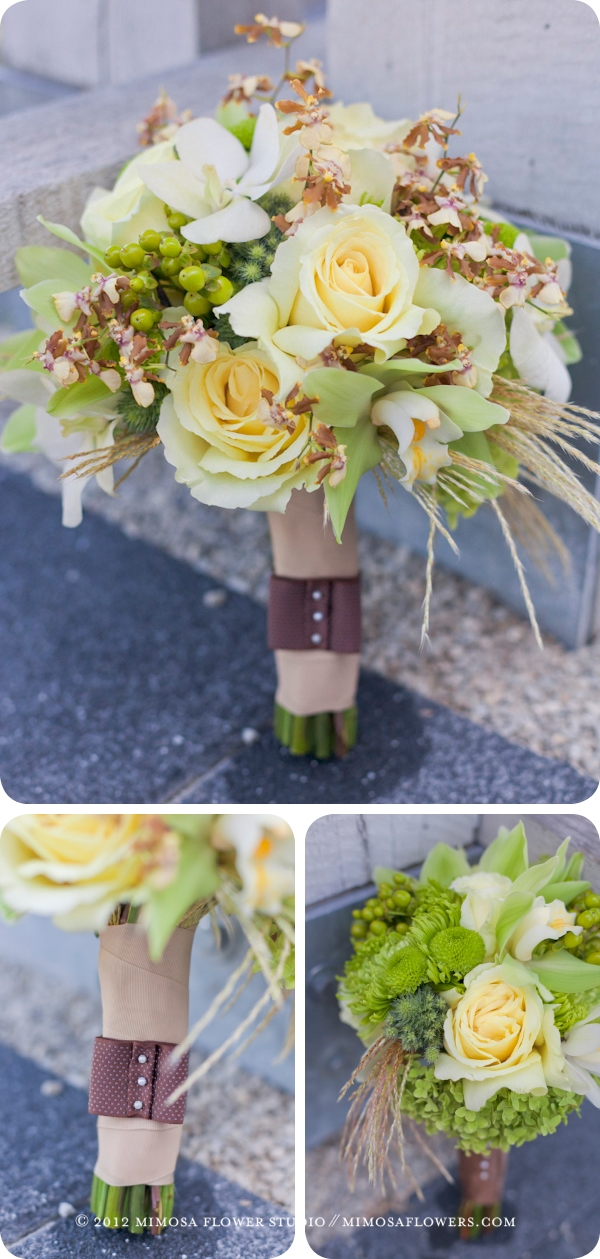 Brides Bouquet at Stratus Winery Vineyard Wedding in Niagara on the Lake