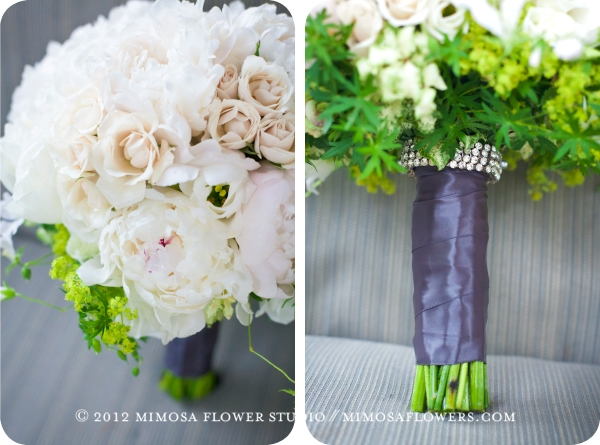 Vineland Estates Winery Wedding - Bride's Bouquet
