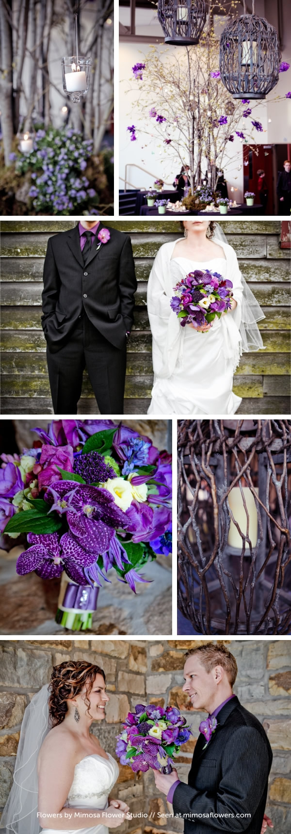 Spring Purple Wedding in  Niagara - 2