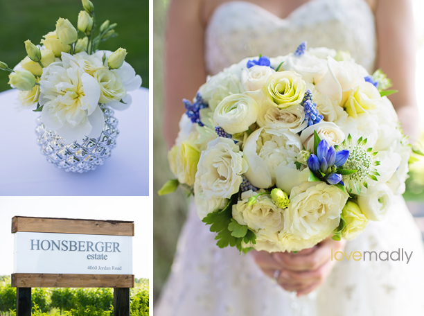Kira + Mike - Honsberger Estate Wedding - Bride's Bouquet