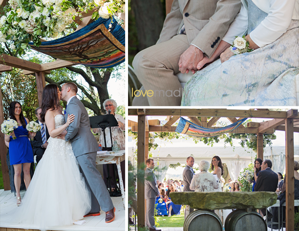 Kira + Mike - Honsberger Estate Outdoor Wedding Ceremony