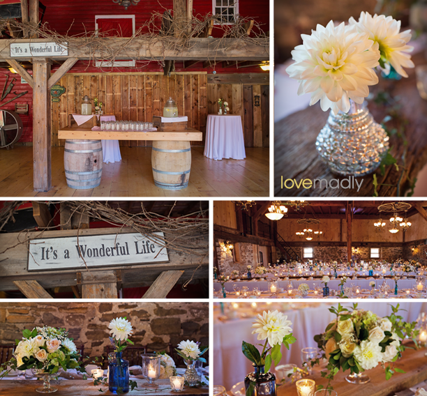 Kira + Mike - Honsberger Estate Wedding Reception in Barn - 2