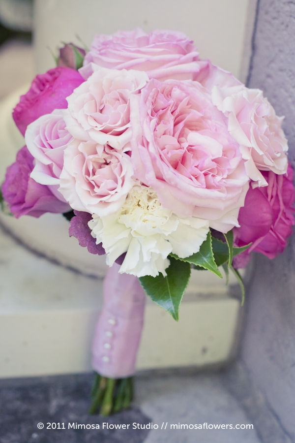 Soft Pink Bridemaid's Bouquet 1
