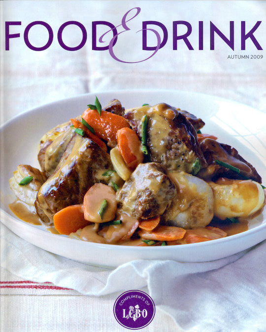 lcbo food magazine drink feature satellite tall pieces designed series