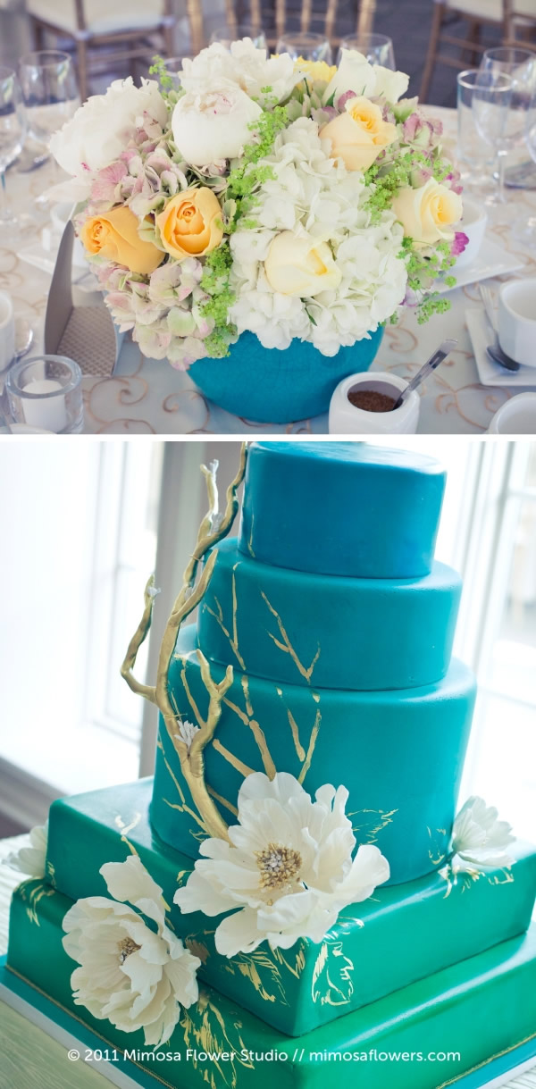 Chateau des Charmes Wedding Cake by Cake Opera Co. Toronto