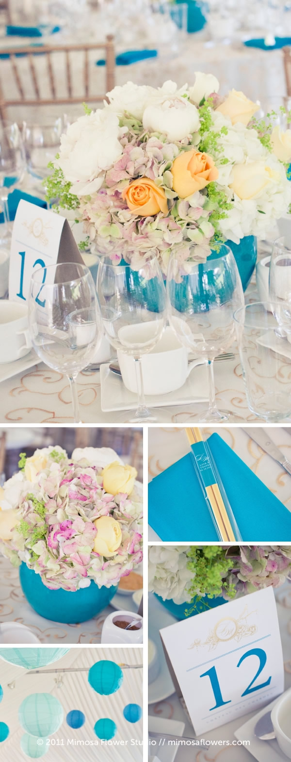 Outdoor Wedding Reception at Chateau des Charmes Winery