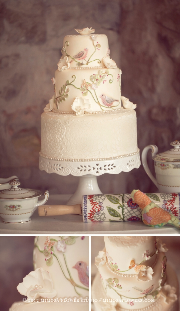 Made with Love 'Wedding Cake' by Vineyard Sweets at Vineland Estates Winery