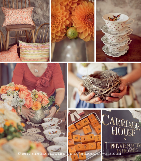 Made with Love - Pillows, teacups, bird's nest