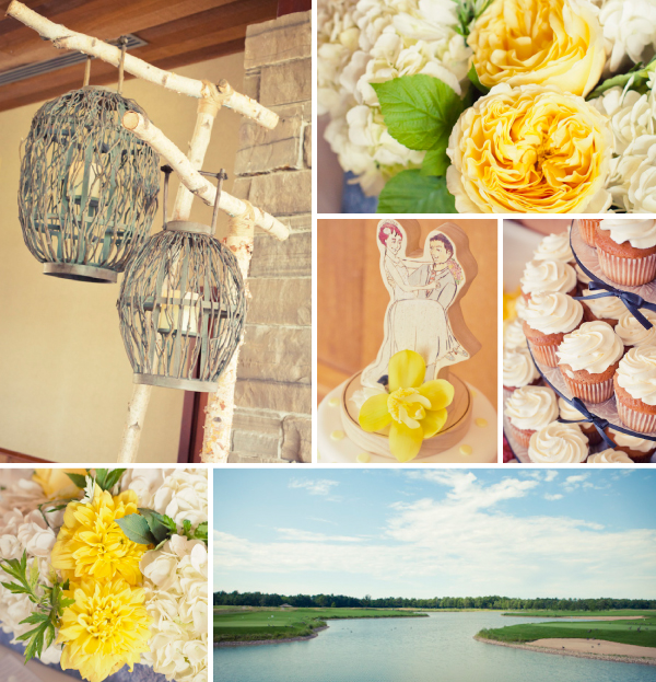 Legends on the Niagara - Wedding Reception Collage