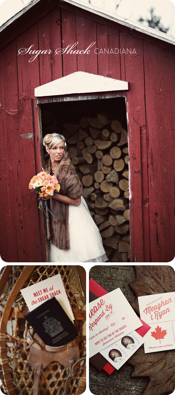 Sugar Shack Canadiana Inspired Wedding - 1
