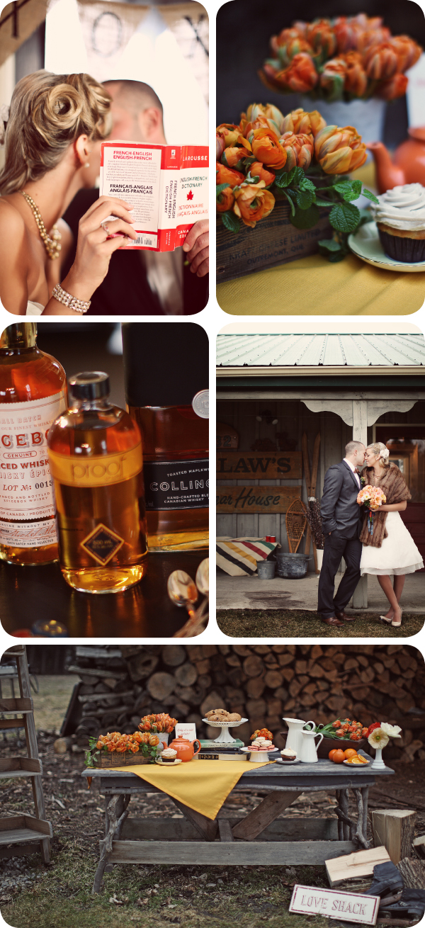 Sugar Shack Canadiana Inspired Wedding - 5