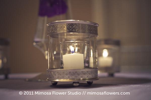 Queen's Landing Wedding Reception Flowers in Imperial Ballroom - 6