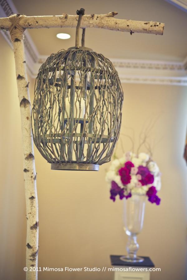 Queen's Landing Wedding Reception Flowers in Imperial Ballroom - 4