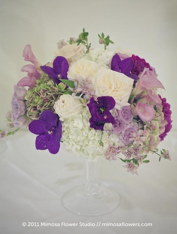 Queen's Landing Wedding Reception Flowers in Imperial Ballroom - 5