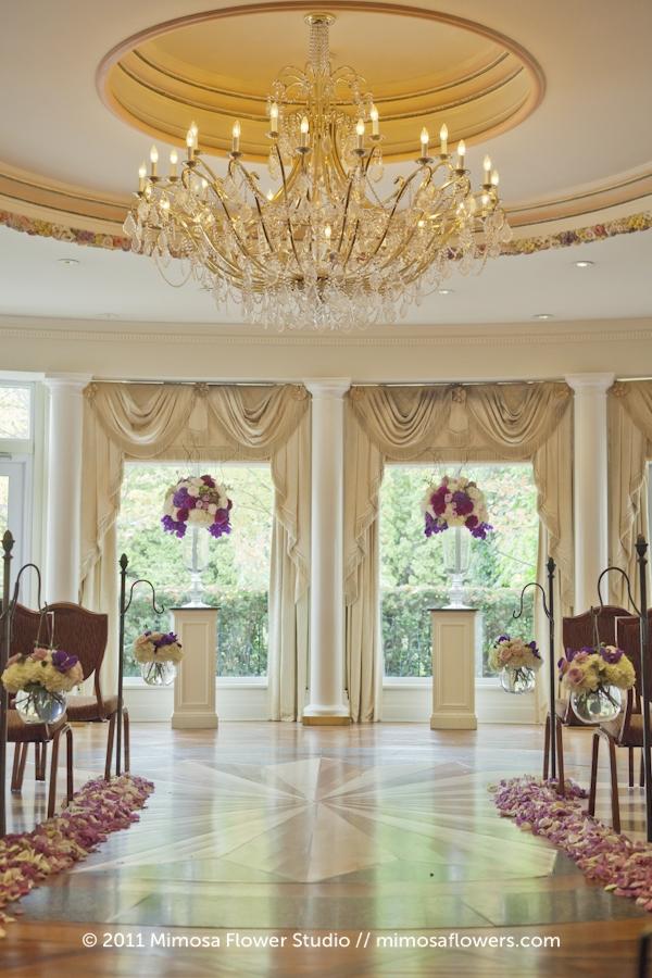 Queen's Landing Atrium - Wedding Ceremony - 1