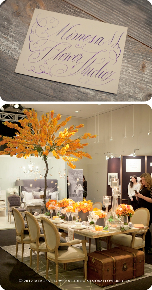 The Wedding Co. Show 2012 - Mimosa Flower Studio - 1