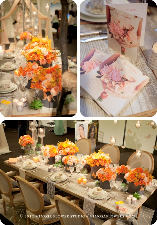 The Wedding Co. Show 2012 - Mimosa Flower Studio - 8