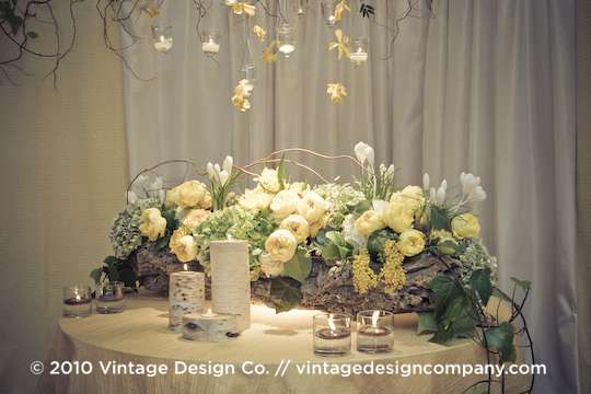 Vintage Design Co. // Niagara Wedding Florist