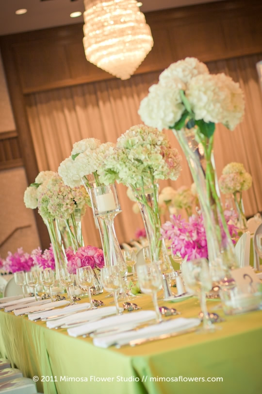 Wedding Tablescape at The Granite Club - 1