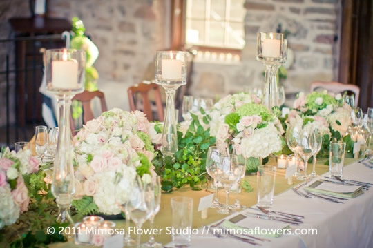 Wedding Tablescape at Vineland Estates Winery - 6