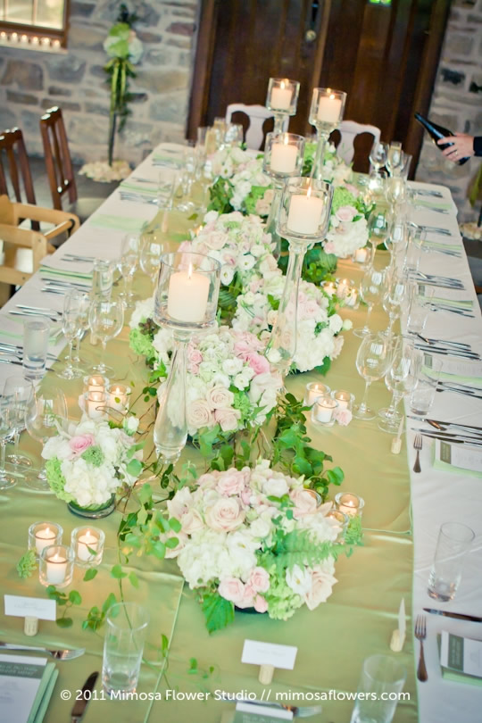 Wedding Tablescape at Vineland Estates Winery - 5