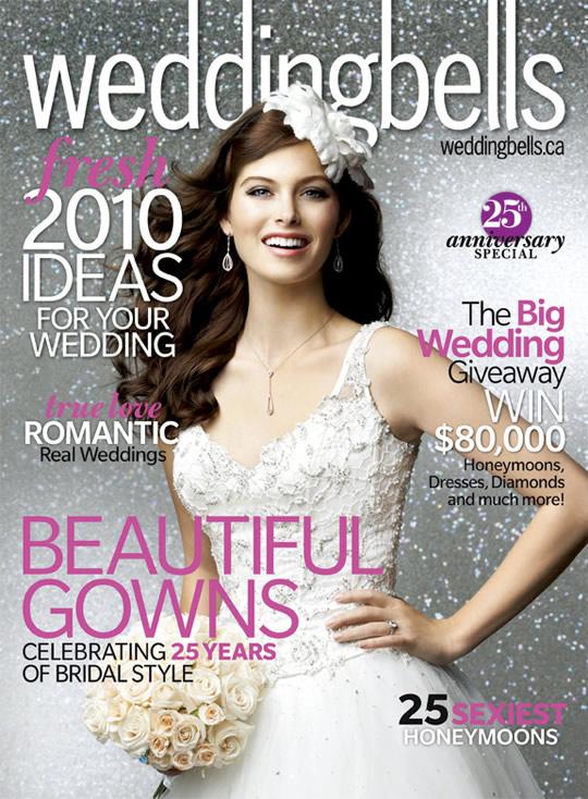 Vintage Design Co. // Weddingbells Magazine Spring/Summer 2010