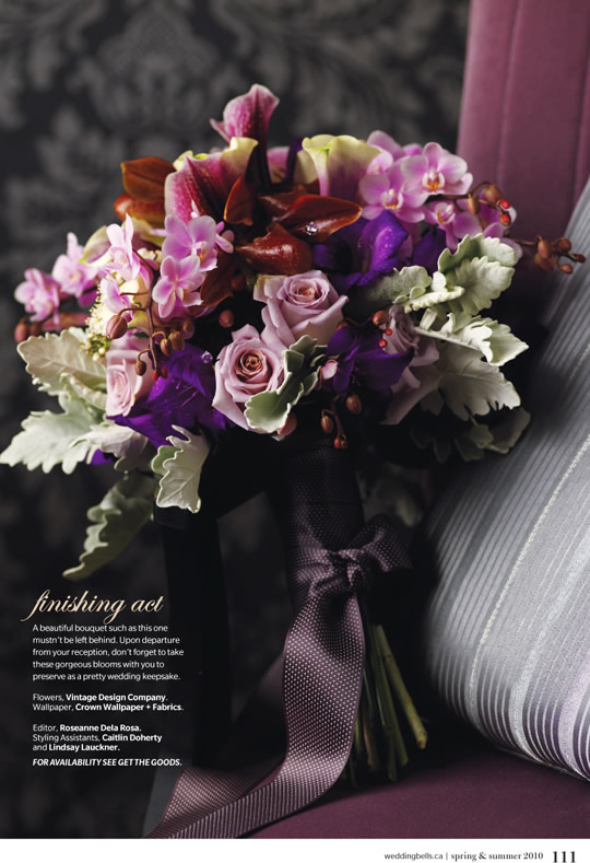 Vintage Design Co. // Weddingbells Magazine Spring/Summer 2010