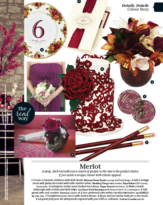 Mimosa Flower Studio in Weddingbells Magazine Spring/Summer 2013 Issue - 2