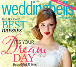 Featured in Weddingbells Magazine (Spring/Summer 2013)