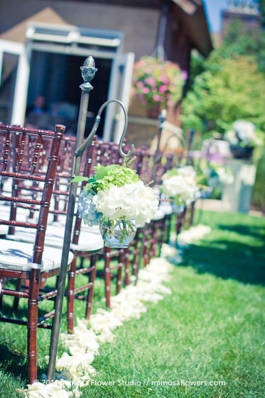 Garden Wedding at Pillar and Post in Niagara on the Lake - 2