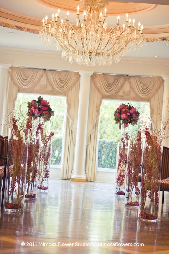 Queen's Landing Atrium Wedding Ceremony