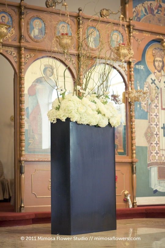 Greek Orthodox Wedding Ceremony in Niagara