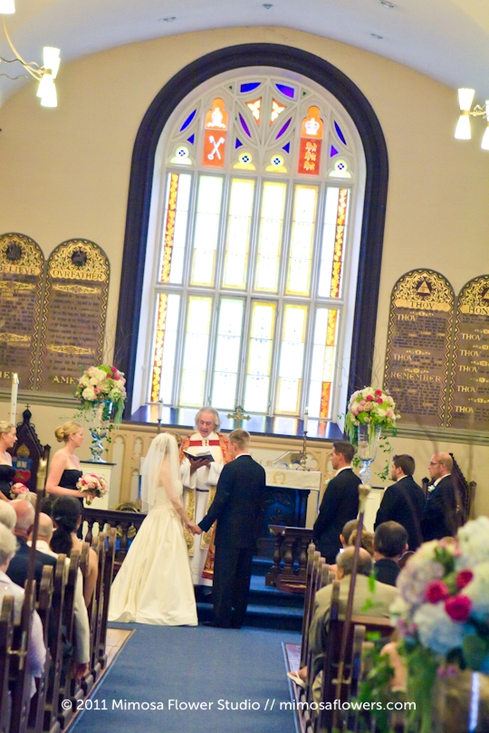 Wedding Ceremony at St. Mark's Anglican Church in Niagara on the Lake - 2