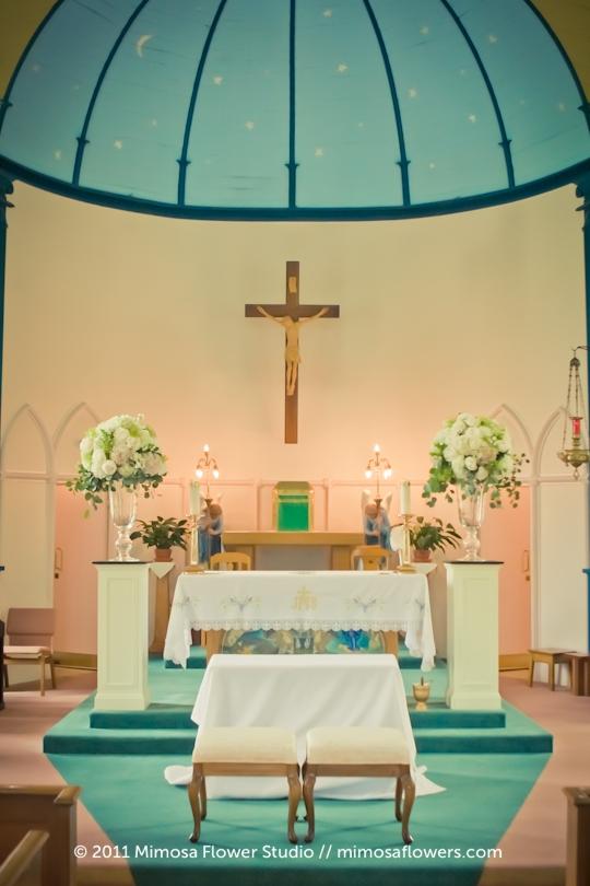 Catholic Wedding Ceremony in Niagara on the Lake