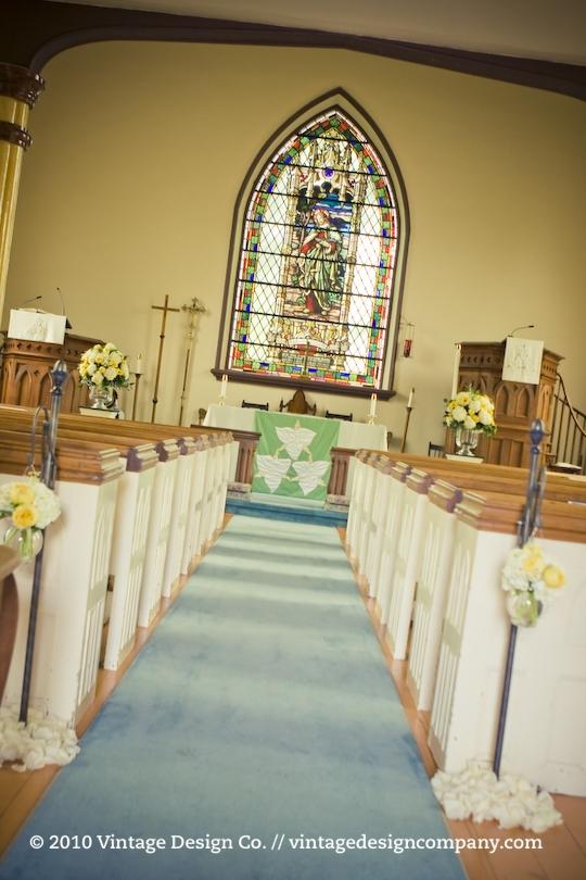 Wedding Ceremony at St. John's in Jordan - 2