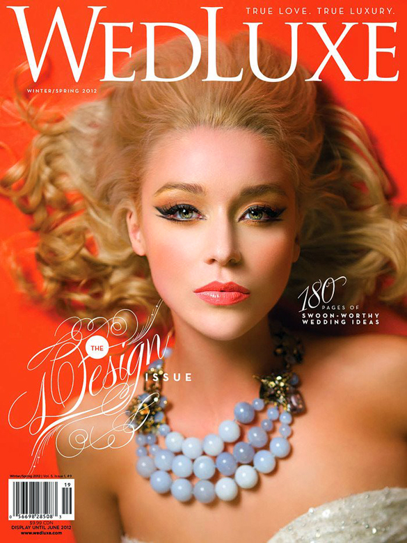 WedLuxe Winter/Spring 2012 Cover - Feature