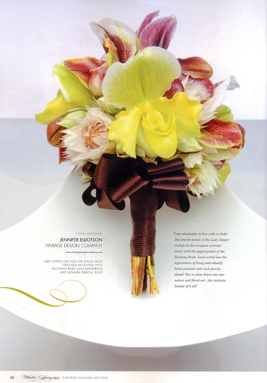 Vintage Design Co. // WedLuxe Magazine Winter/Spring 2010