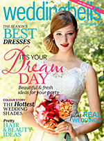 Mimosa Flower Studio featured in Weddingbells Magazine - Spring/Summer 2013 Issue