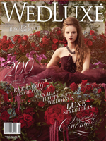 Mimosa Flower Studio featured in Wedluxe Magazine